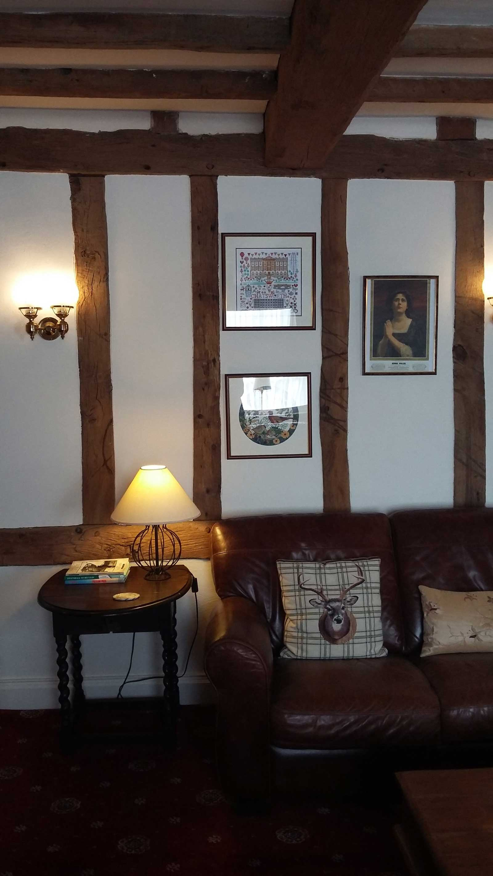 Our comfy guest lounge